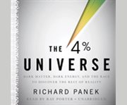 The 4 percent universe cover image