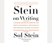 Stein on writing cover image