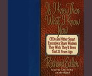 If I knew then what I know now cover image