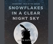 Snowflakes in a clear night sky cover image