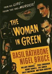 Sherlock holmes - the woman in green cover image