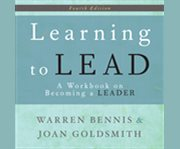 Learning to lead a workbook on becoming a leader cover image