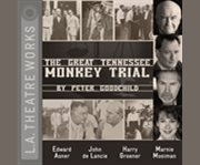 The great Tennessee monkey trial a new play cover image