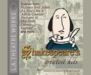 Shakespeare's greatest hits cover image