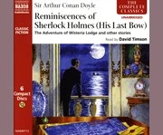 Reminiscences of Sherlock Holmes (his last bow) cover image