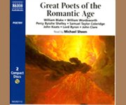 Great poets of the romantic age cover image