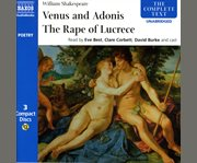 Venus and Adonis the rape of Lucrece cover image