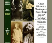 Great historical Shakespeare recordings and, A miscellany cover image