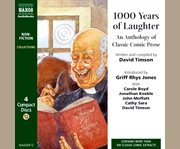 1000 years of laughter an anthology of classic comic prose cover image