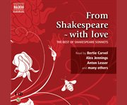 From Shakespeare, with love the best of the sonnets cover image