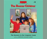 The mystery in the computer game cover image