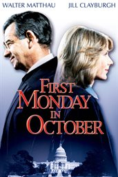First monday in october cover image