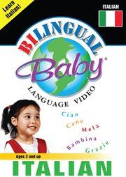 Bilingual Baby language video. Italian cover image