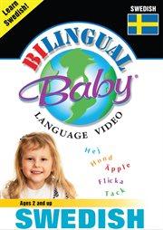 Bilingual Baby language video. Swedish cover image