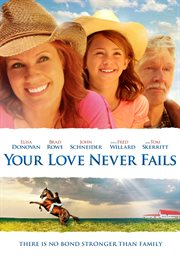 Your love never fails cover image