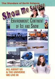 Show me science earth science - environment: continent of ice and snow cover image
