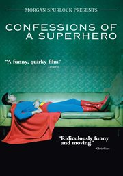 Confessions of a superhero cover image