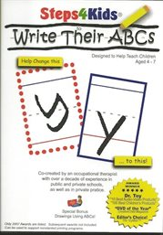 Steps4Kids to Write Their  ABCs